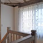 サイエンスホームさんのお家 新築 和邇 ナチュラルなリーフ柄レース 古民家風