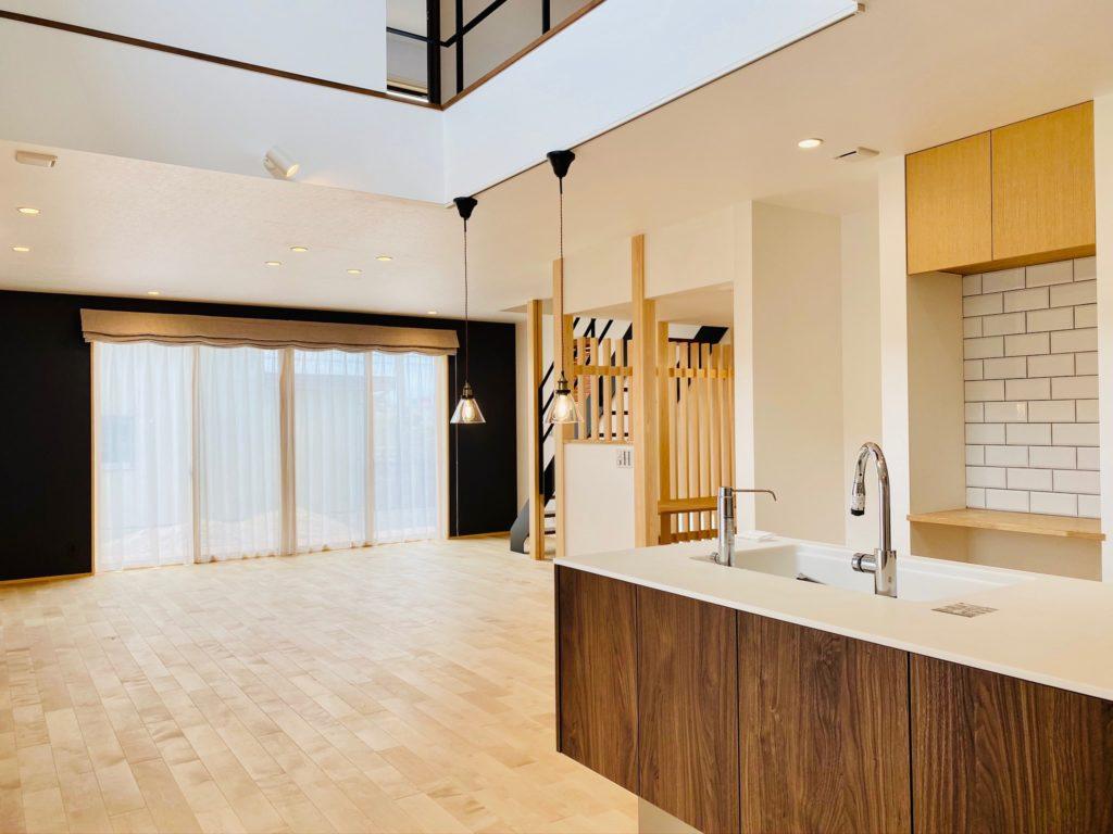 359.シェードスタイルで開放的な空間 木屋長工務店 近江八幡